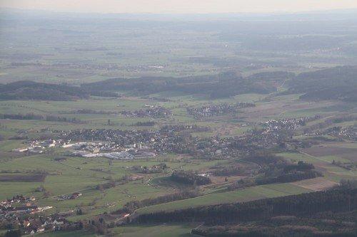 Ballonfahrt in Thannhausen