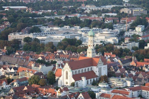 Citygalerie Augsburg und St.Ulrich