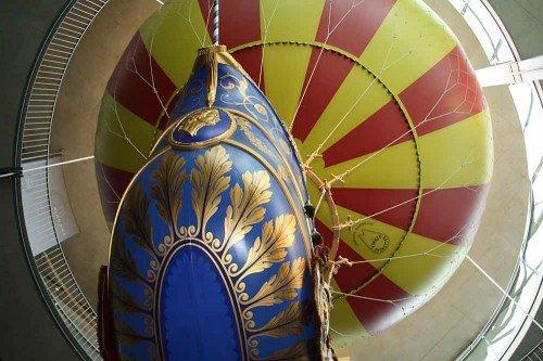 Nachbau des Lütgendorf-Ballons
