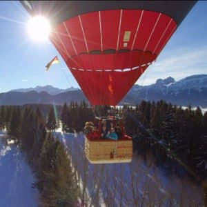 Ballonfahrt im Allgäu