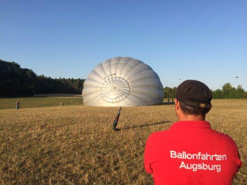 Ballonteam in Augsburg - Mitfahren bei Ballonfahrten Augsburg