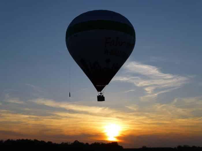 Ballonfahrt über Augsburg (Frühfahrt)