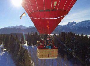 Ballonfahrt Gutschein 2020 Allgäu 1 Person verschenken