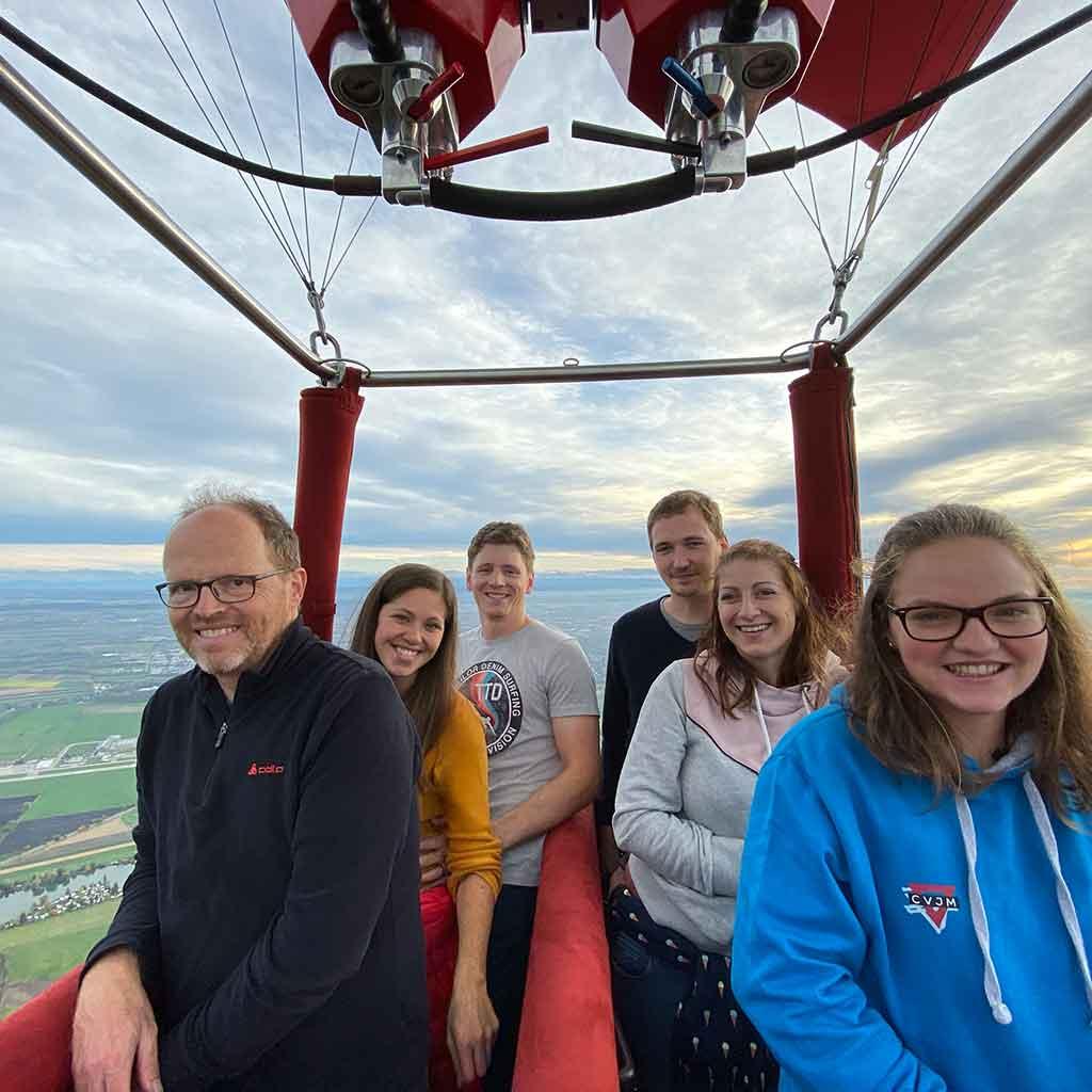 Jetzt mitfahren im Augsburg Heissluftballon!