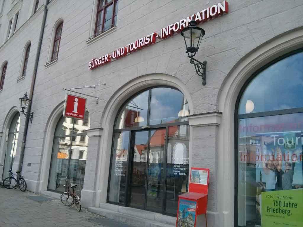Unsere Verkaufsstelle in Augsburg - hier können Sie unsere Gutscheine kaufen!