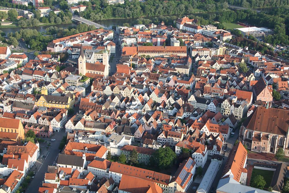 Ingolstadt aus der Luft