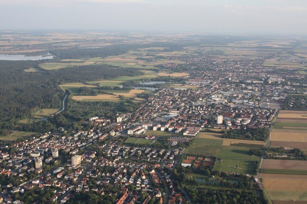 Ballonfahrt über Königsbrunn -jetzt mitfahren!